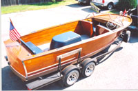 1953 22' Sportsman, Chris Craft wooden boat
