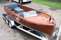 1952 22' Sportsman, Chris Craft Wooden Boat