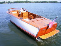 1961 30' Shepherd twin engine vintage wooden boat