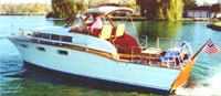 Chris Craft 1955 33' Futura Wooden Cabin Cruiser