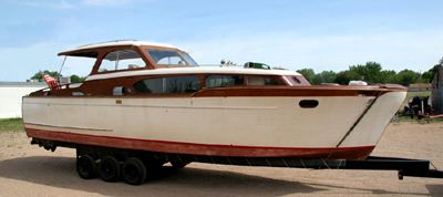 Classic boat restoration shop for Chris craft boat restoration