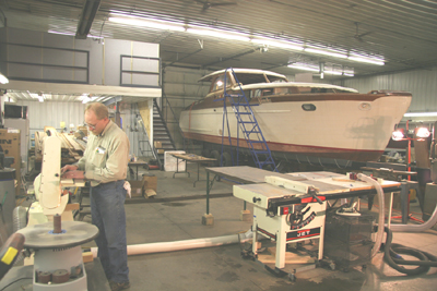 Classic Chris Craft Restoration Project