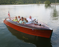 1940 19' Chris Craft Barrel Back Custom Runabout Boat for sale